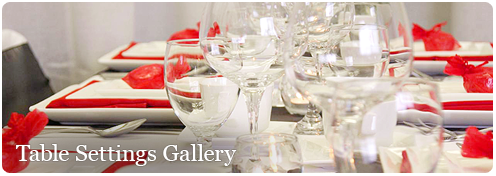 Table Settings Gallery